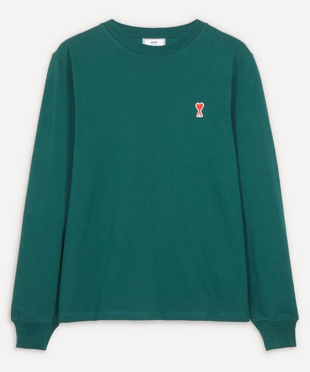 Ami - Long-Sleeve Logo T-Shirt