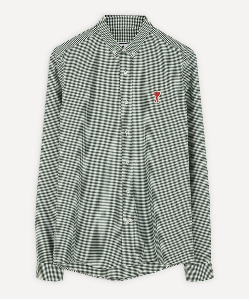 Ami - Gingham Cotton Shirt