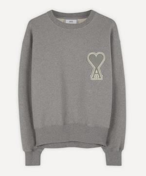 Large Logo Cotton Sweater
