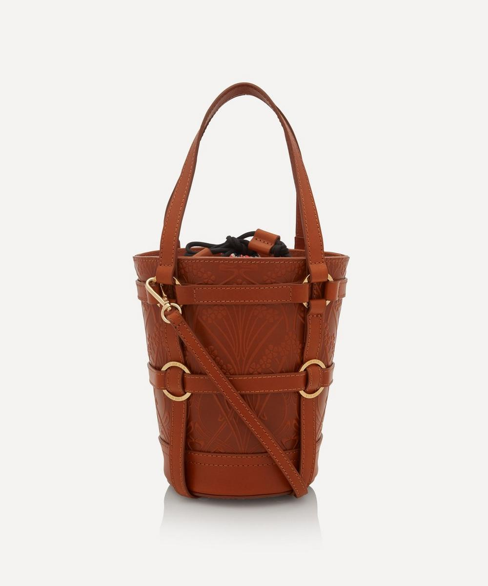 Liberty - Medium Ianthe Flower Bucket Cross-Body Bag