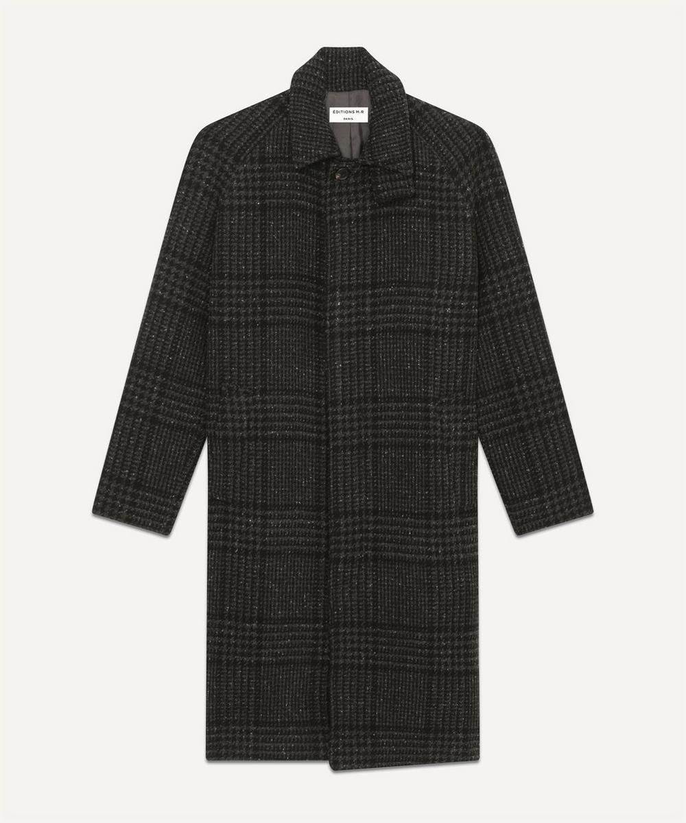 Éditions M.R - Checked Mac Hunting Coat