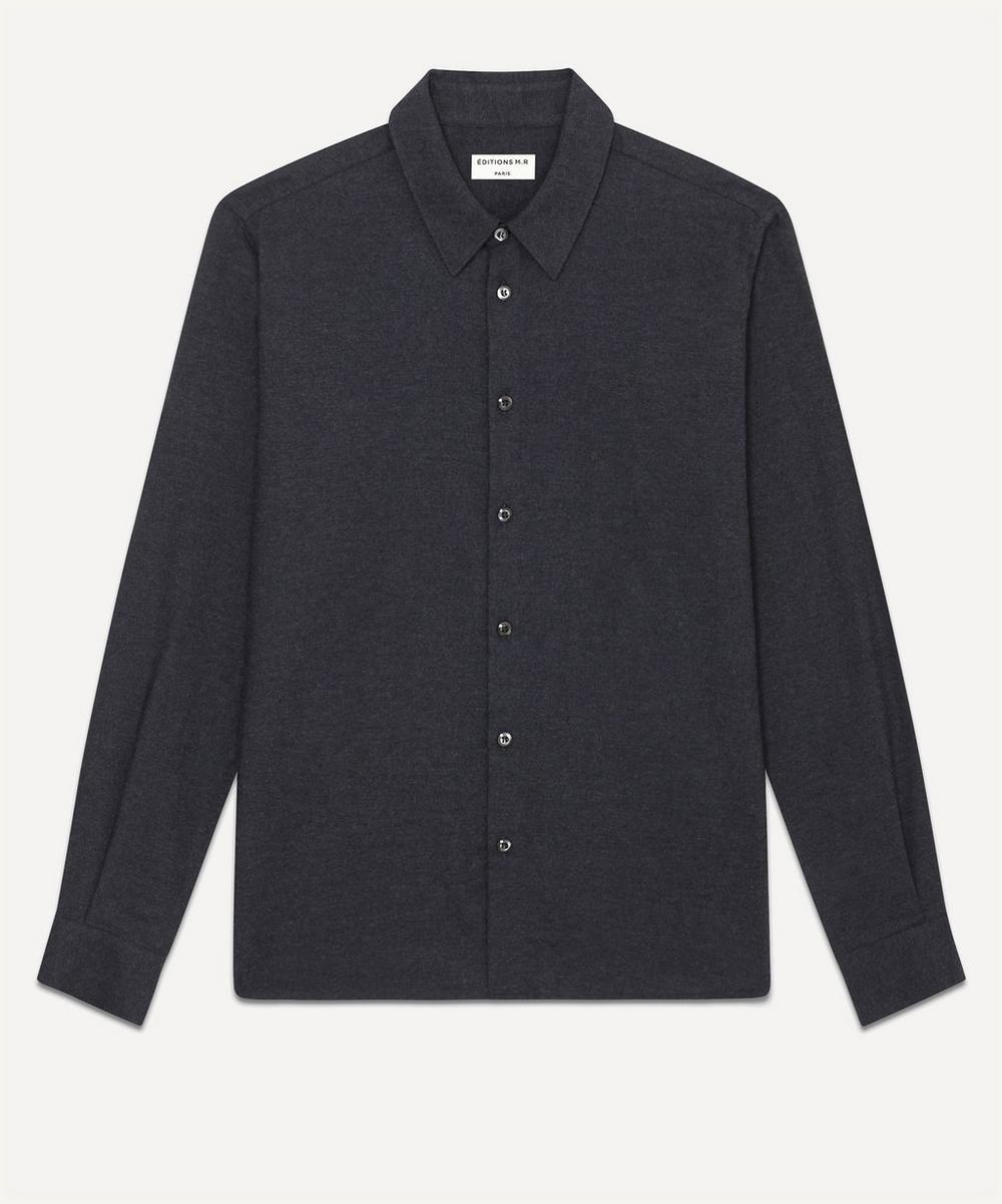 Éditions M.R - St Germain Cotton and Cashmere-Blend Shirt