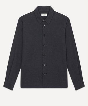 St Germain Cotton and Cashmere-Blend Shirt
