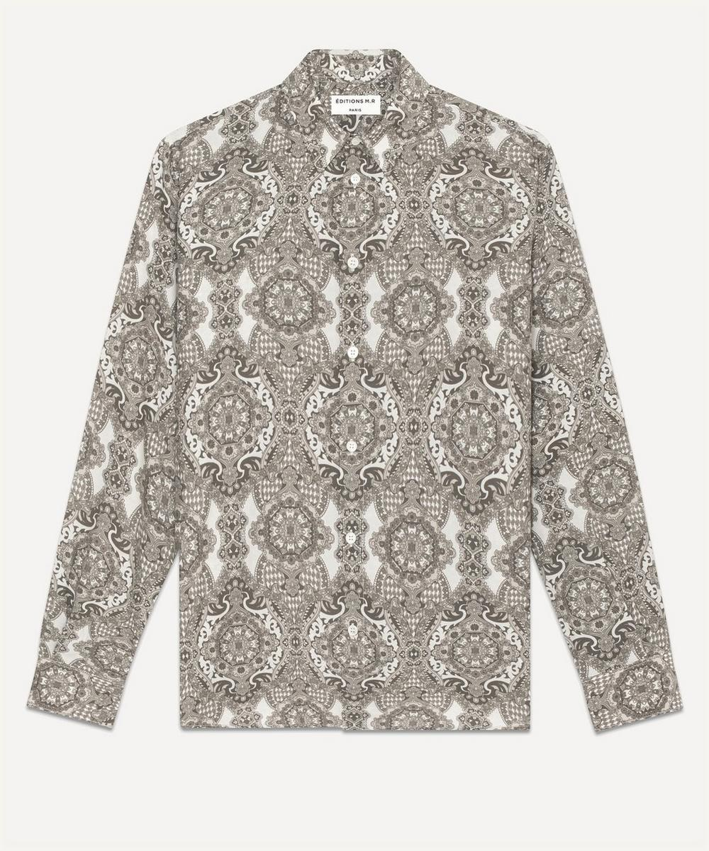 Éditions M.R - St Germain Paisley Print Shirt
