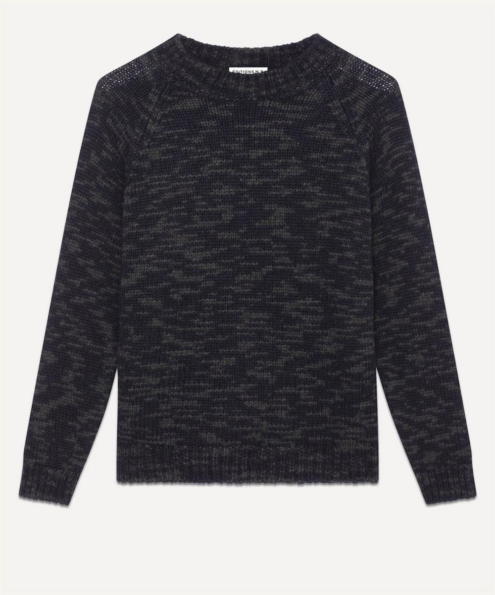 Éditions M.R - Vitalis Speckled Alpaca-Blend Sweater