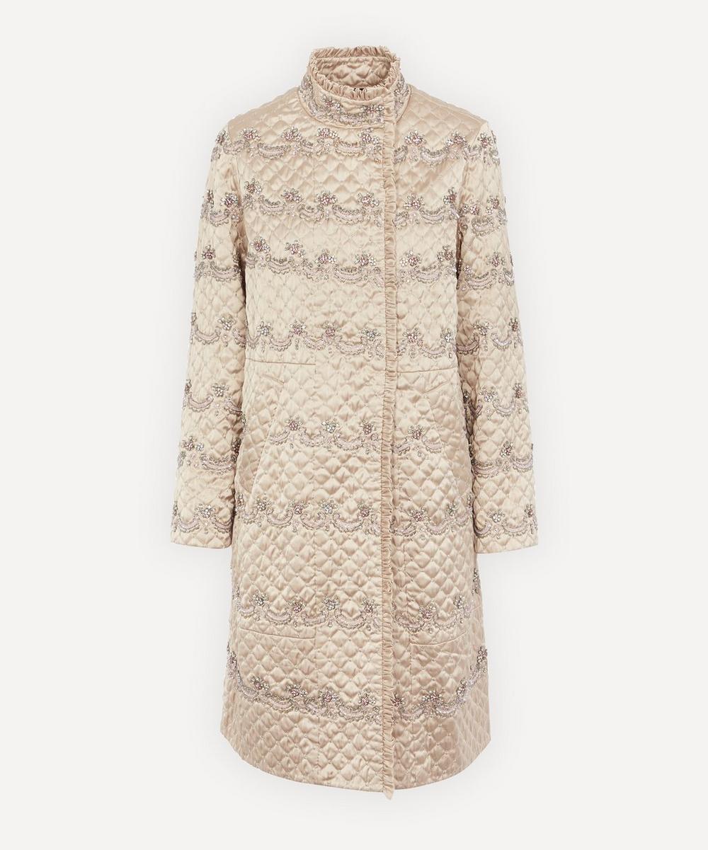 Needle & Thread - Neve Embellished Quilted Coat