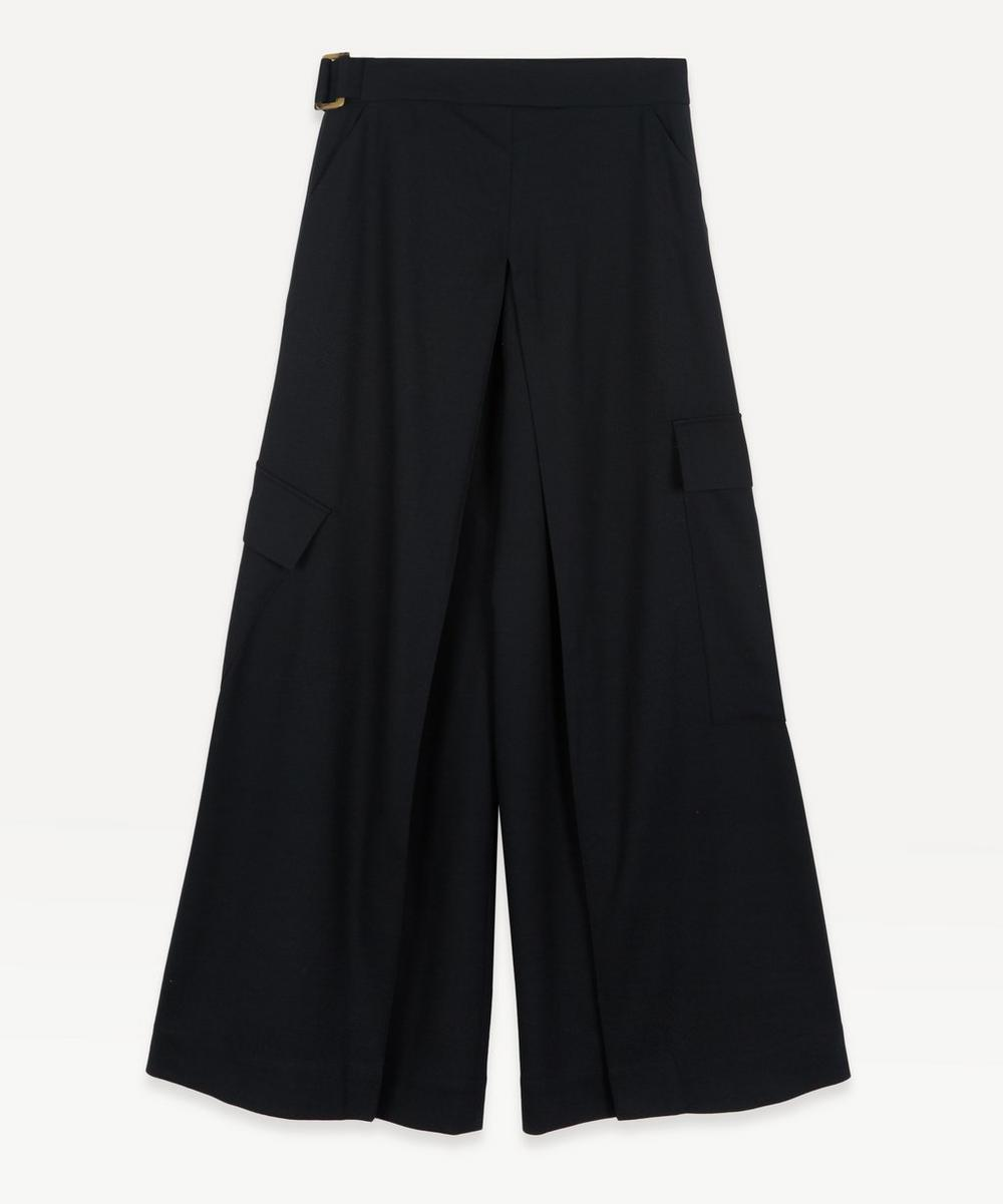 palmer//harding - Aurita Pleated Cargo Trousers
