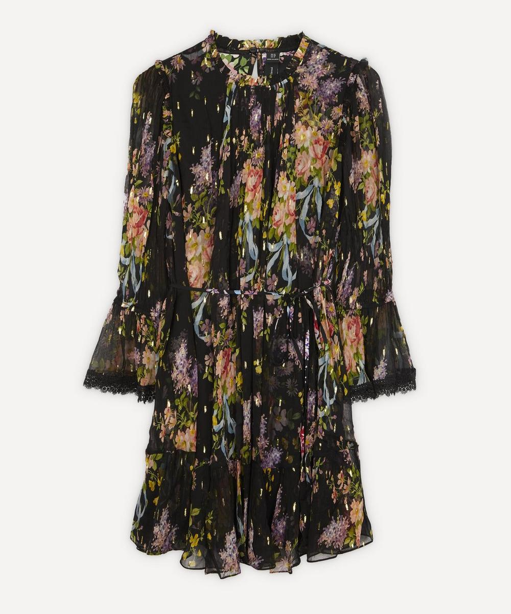 Needle & Thread - Floral Diamond Mini-Dress