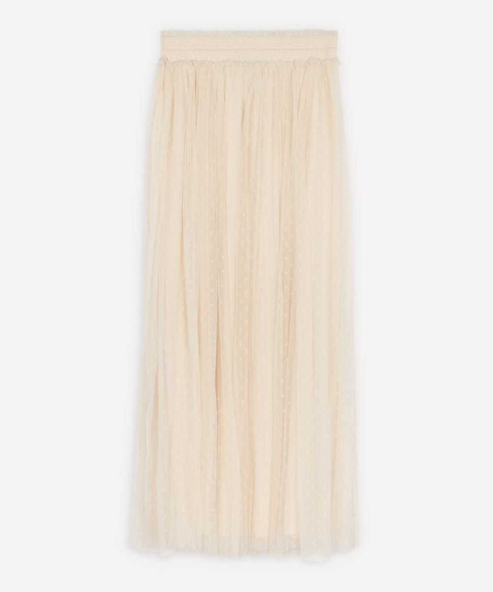 Needle & Thread - Honeycomb Smocked Maxi-Skirt
