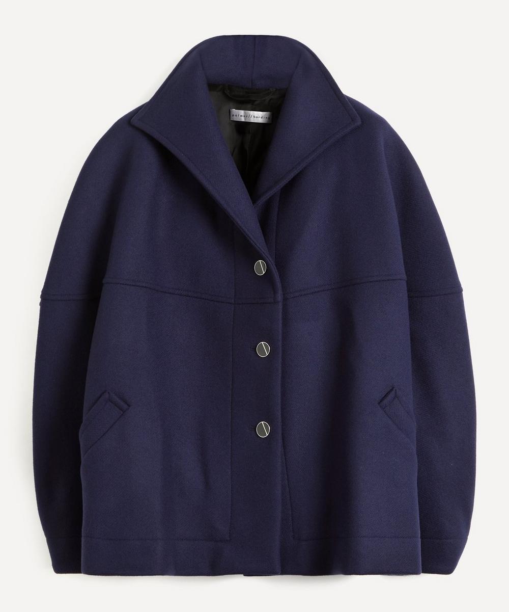 palmer//harding - Rhesus Twill Cropped Pea Coat