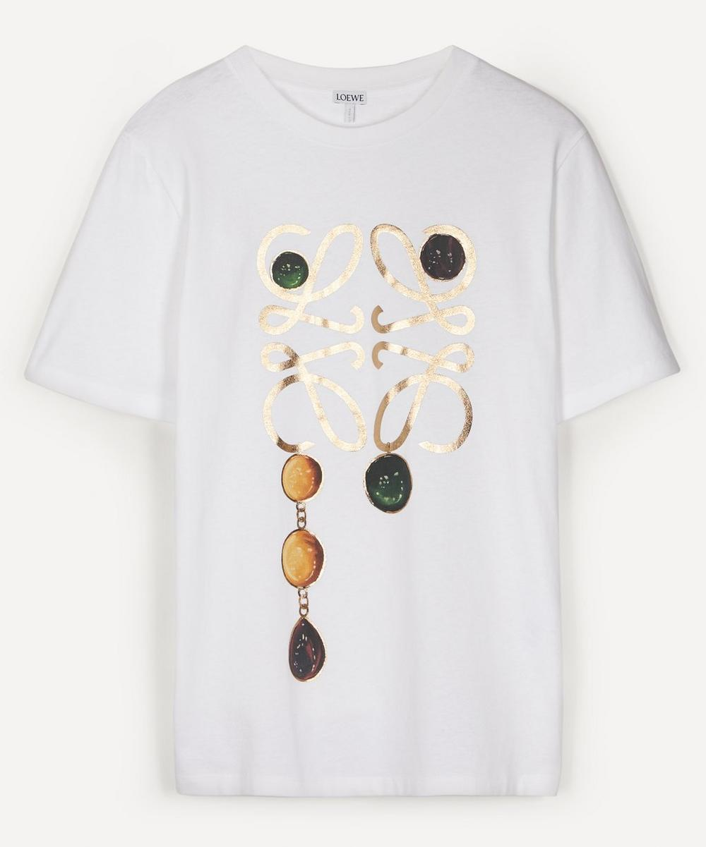 Loewe - Anagram Print T-Shirt