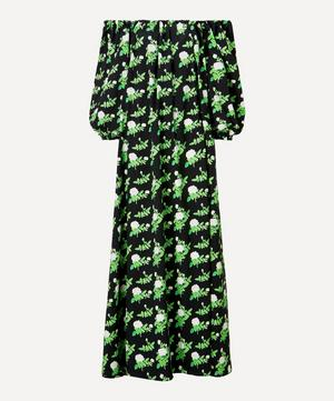 Bobby Off-Shoulder Floral Cotton-Blend Dress