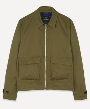 Zip-Up Chore Jacket