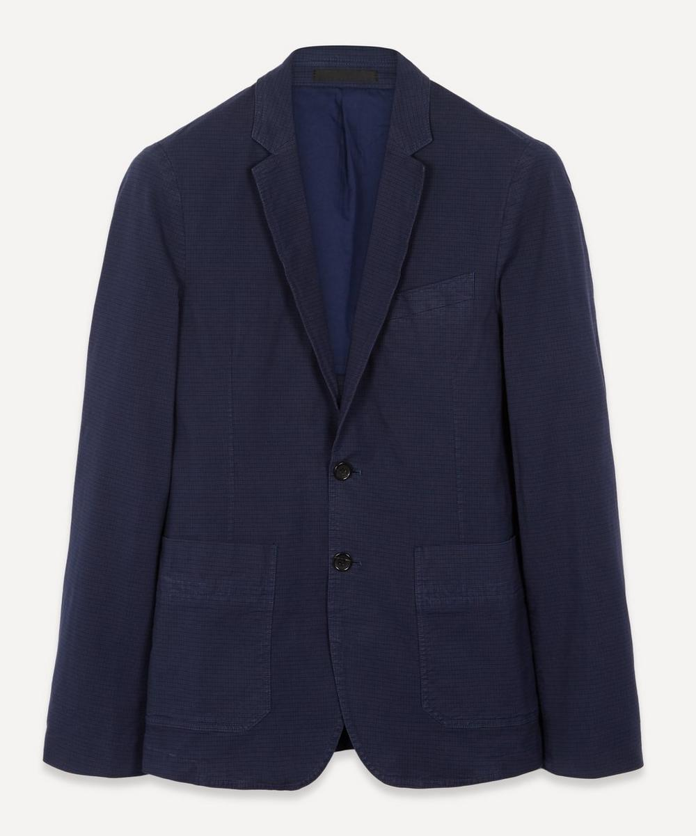 PS Paul Smith - Washed Fine Checked Blazer