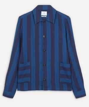 Bold Stripe Overshirt