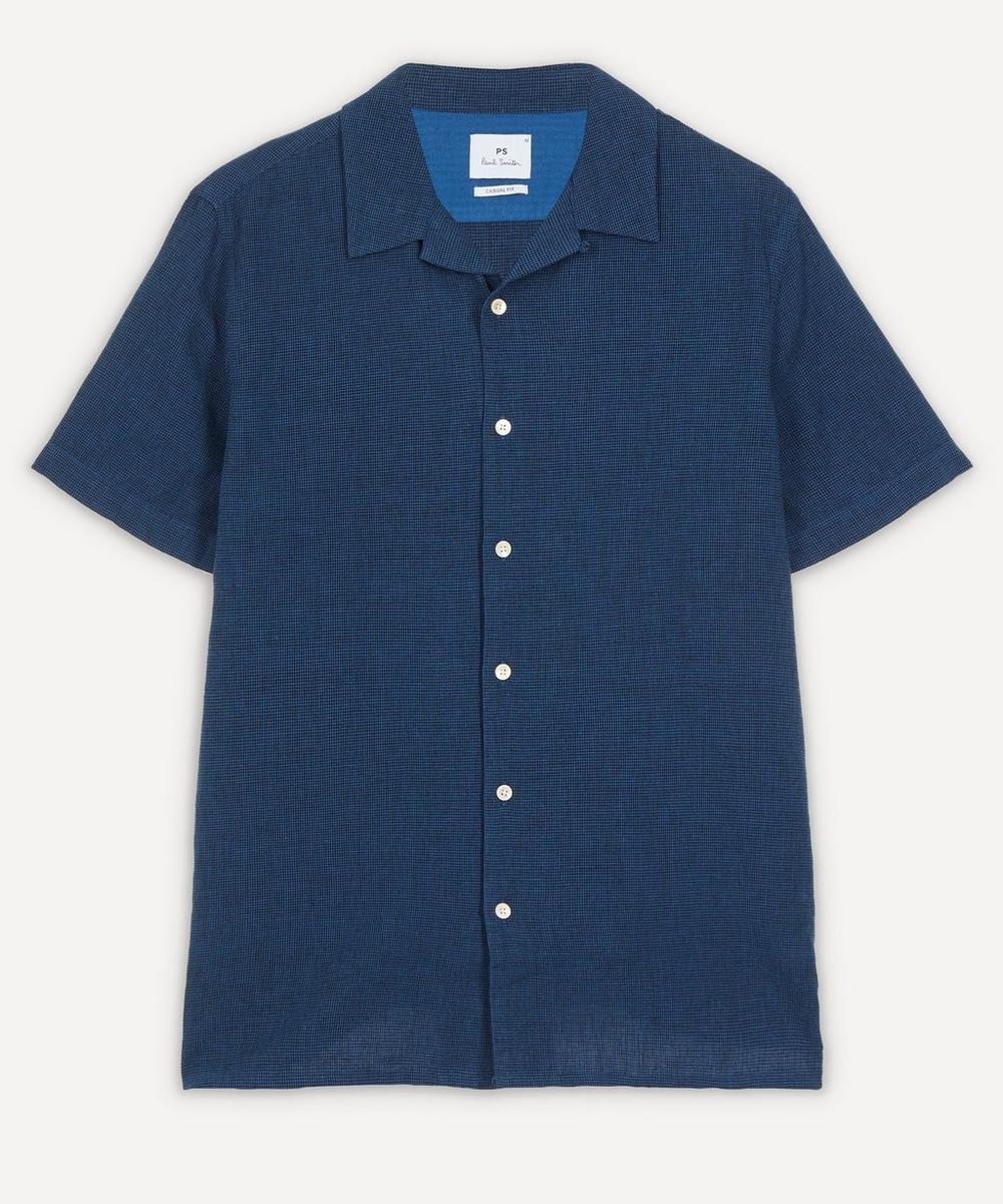 PS Paul Smith - Gingham Open-Collar Shirt