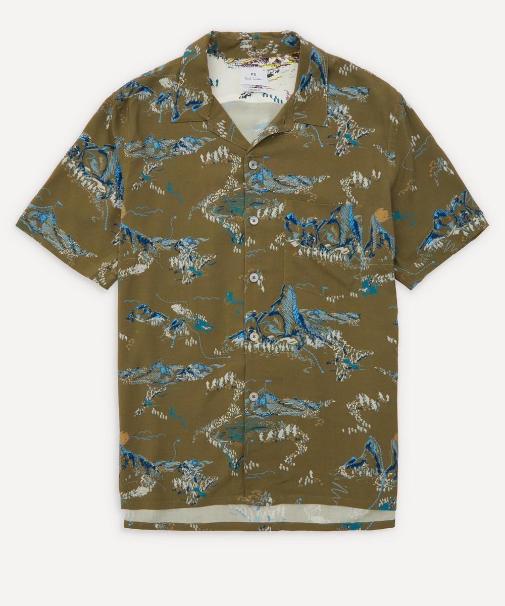 PS Paul Smith - Mountain Print Short-Sleeve Shirt