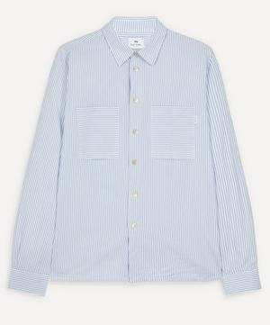 Striped Patch Pocket Shirt