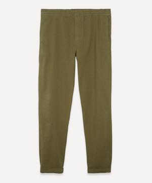 Drawstring Cotton Chino Trousers