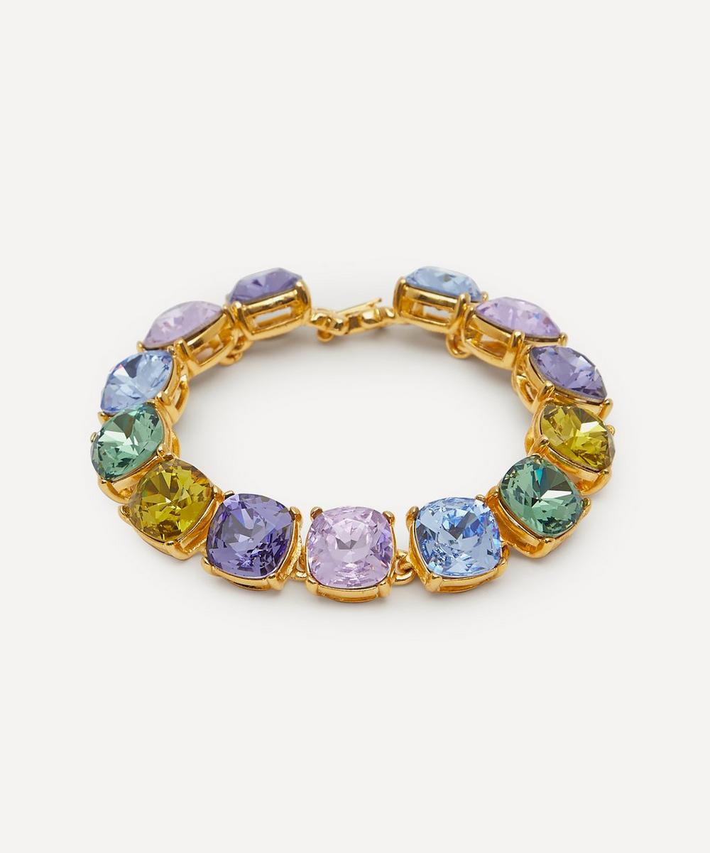Kenneth Jay Lane - Gold-Plated Crystal Bracelet