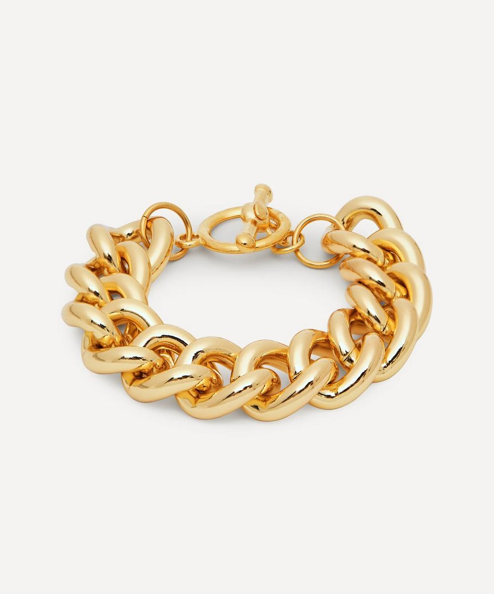 Kenneth Jay Lane - Gold-Plated Chain Bracelet