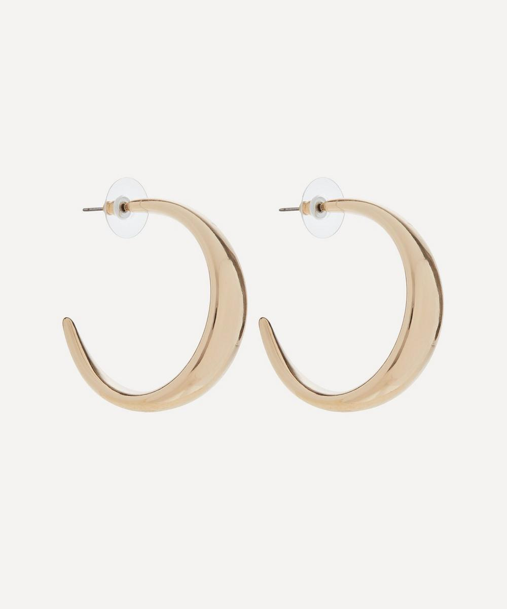Kenneth Jay Lane - Gold-Plated Hoop Earrings
