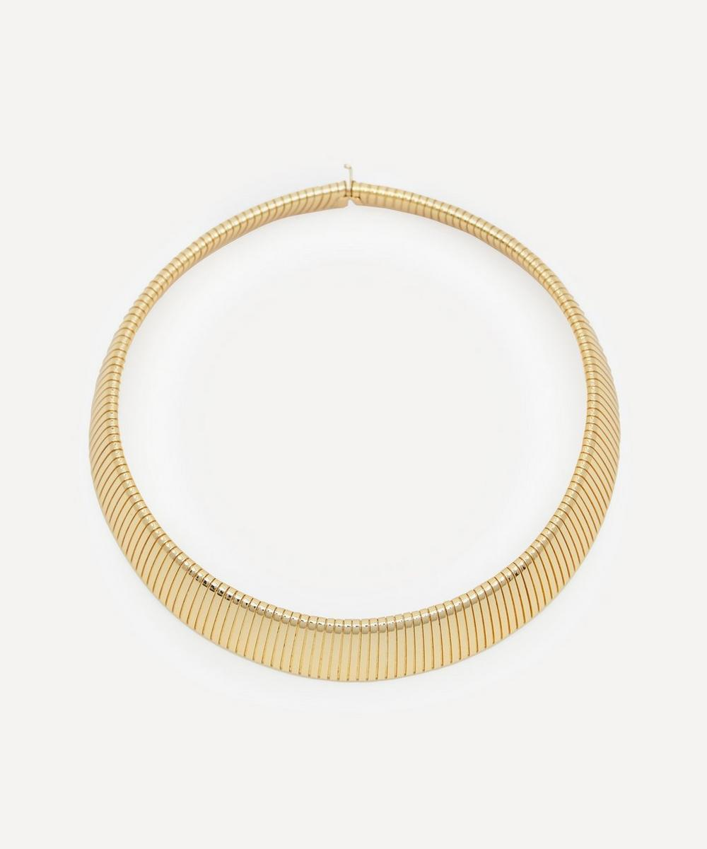 Kenneth Jay Lane - Gold-Plated Snake Collar Necklace