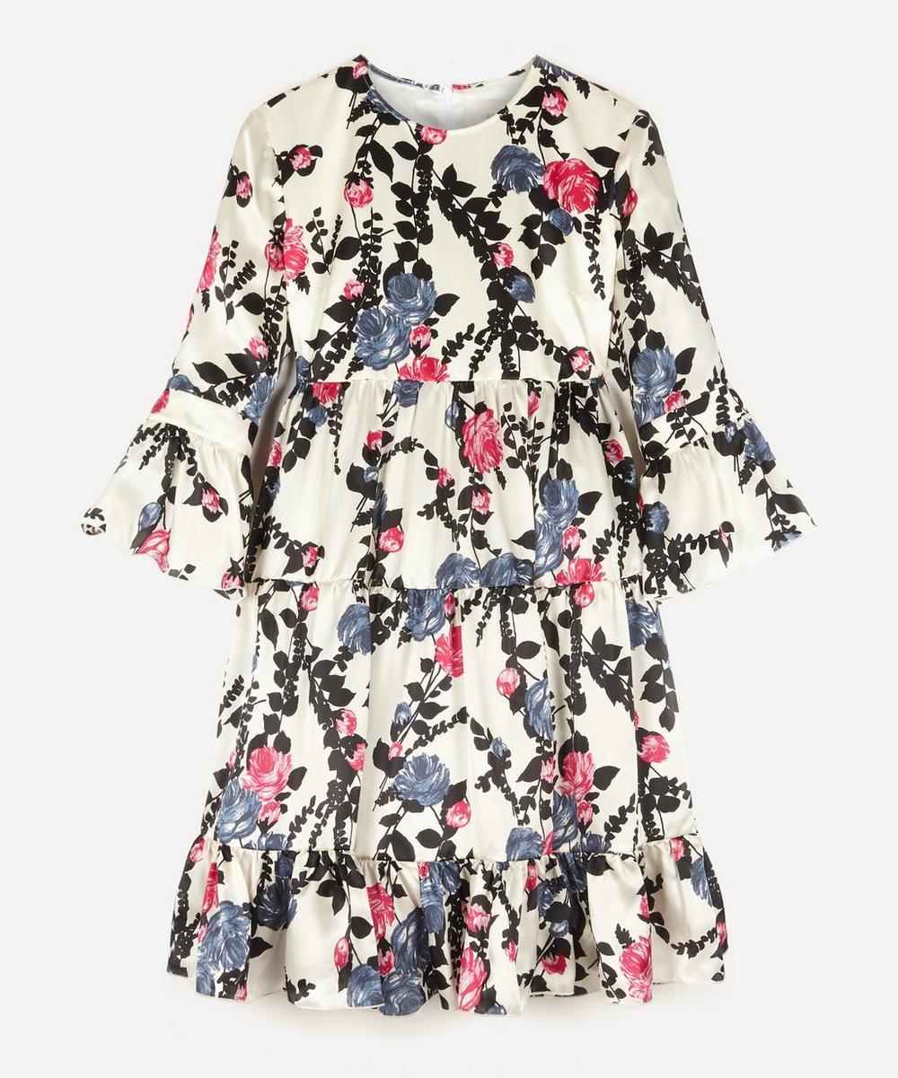 La DoubleJ - Bambi Silk Tiered Dress