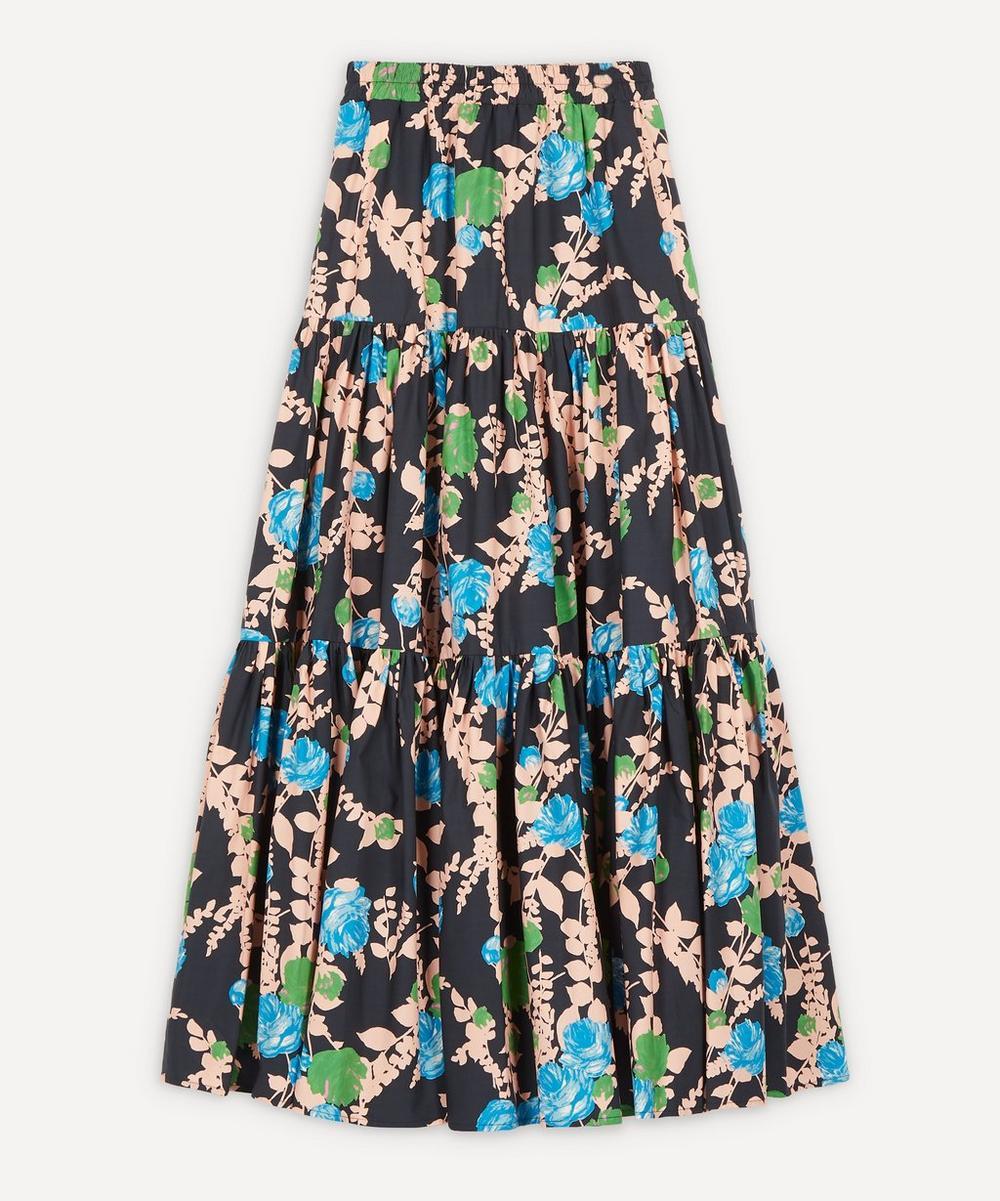 La DoubleJ - Tiered Cotton Skirt