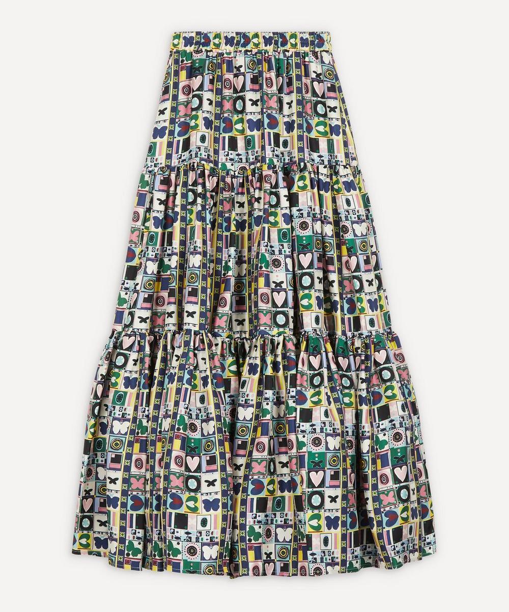 La DoubleJ - Big Tiered Silk Skirt
