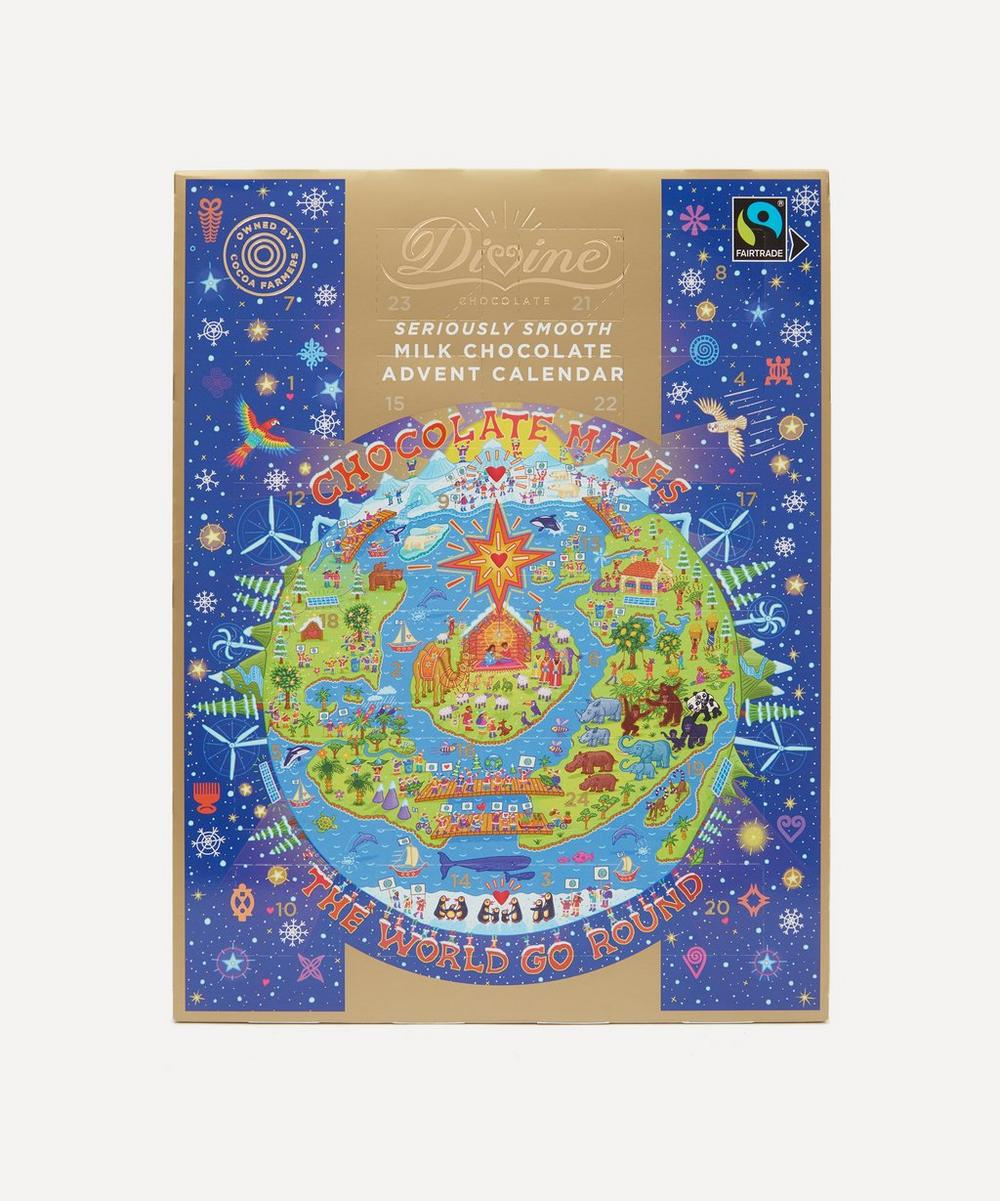 Divine Chocolate - Milk Chocolate Advent Calendar 85g