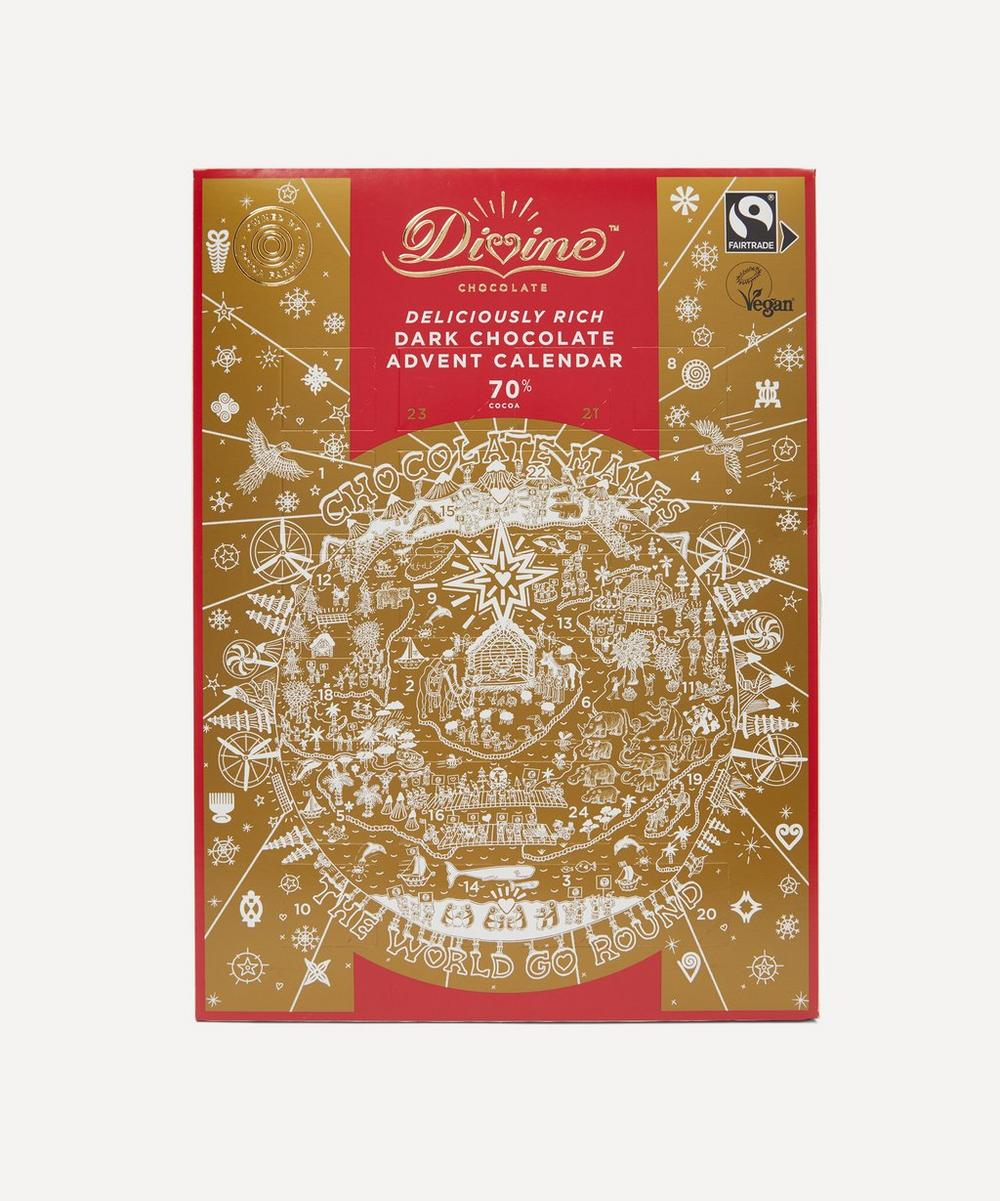 Divine Chocolate - Dark Chocolate Advent Calendar 85g