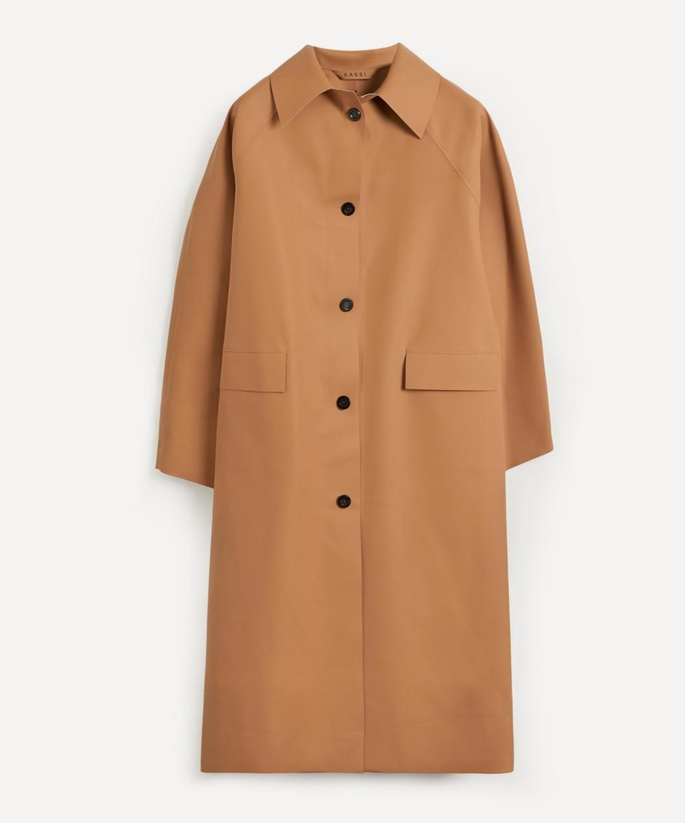 KASSL Editions - Original Coated Trench Coat
