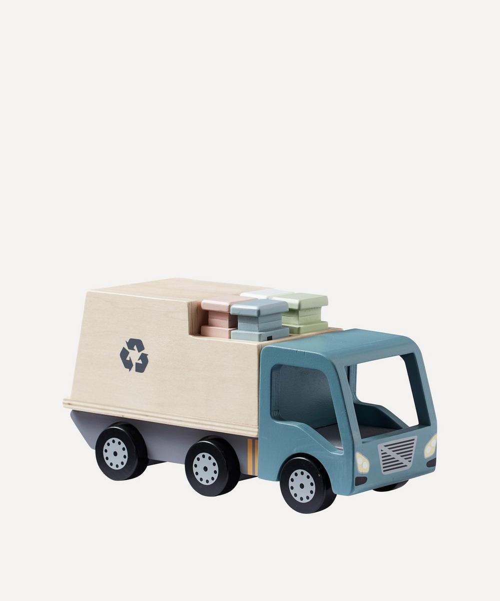 Kid's Concept - Wooden Garbage Truck
