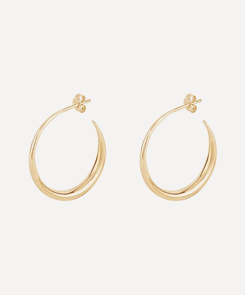 Dinny Hall - 10ct Gold Signature Eos Hoop Earrings