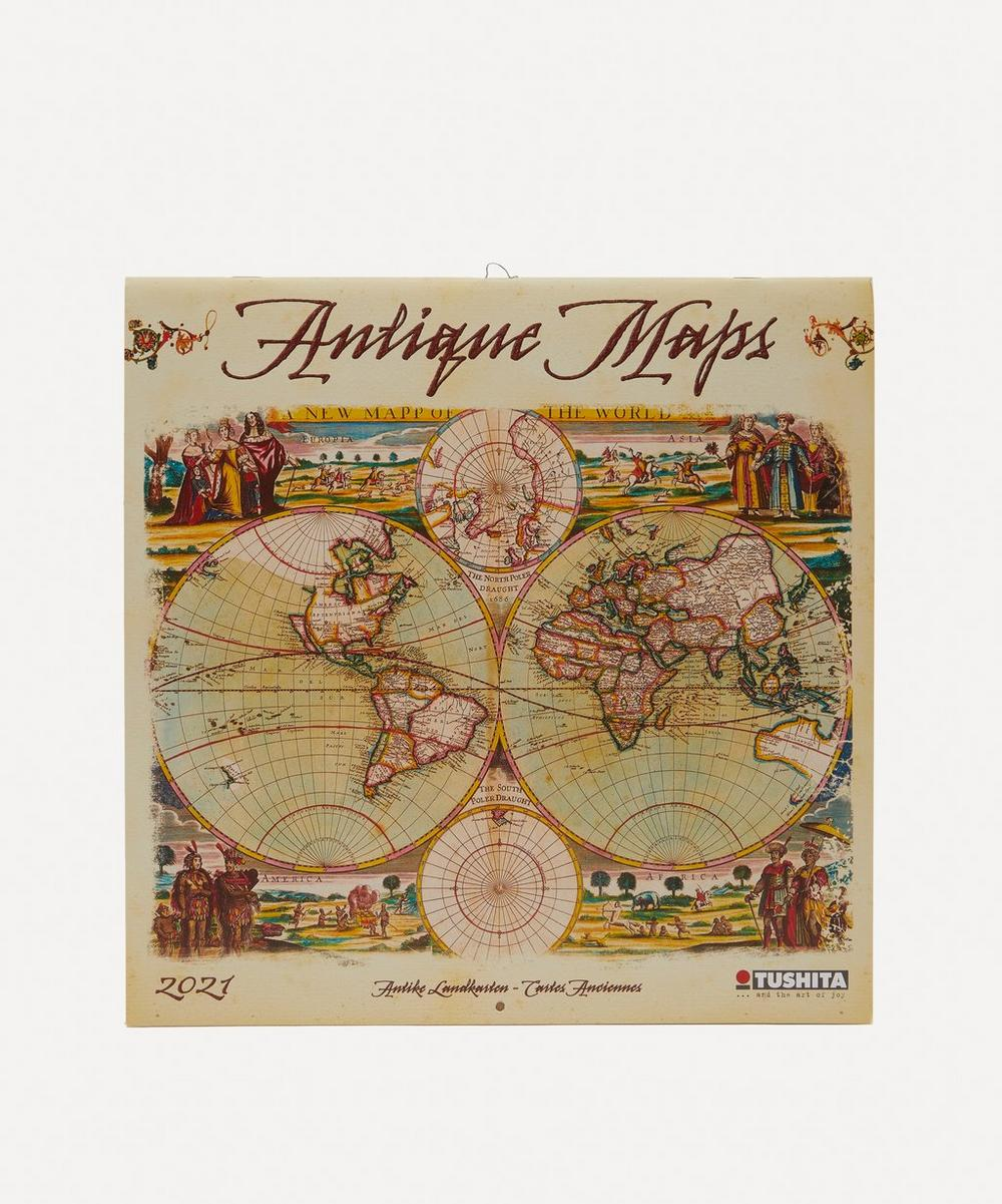 Unspecified - Antique Maps Calendar 2021