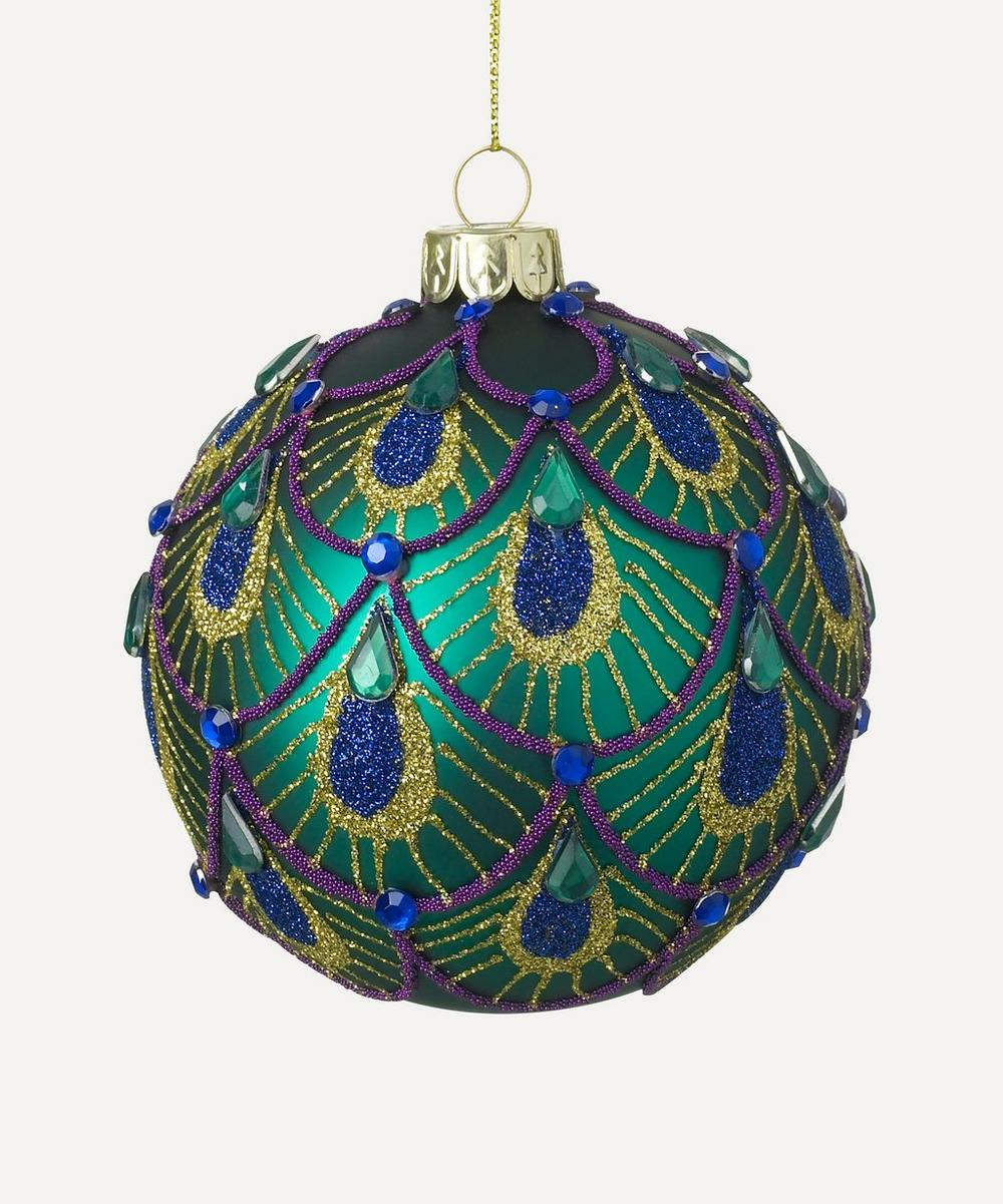 Unspecified - Heritage Peacock Gem Bauble