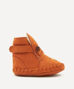 Kapi Fox Leather Baby Shoes 3 Months-3 Years
