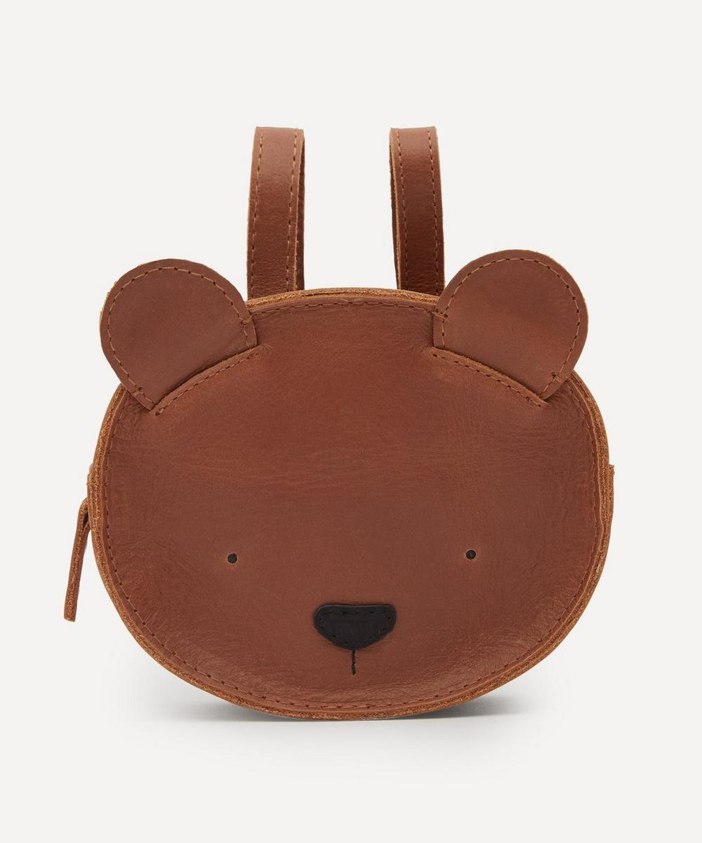 Donsje - Kapi Bear Leather Backpack