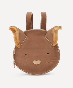 Kapi Squirrel Leather Backpack