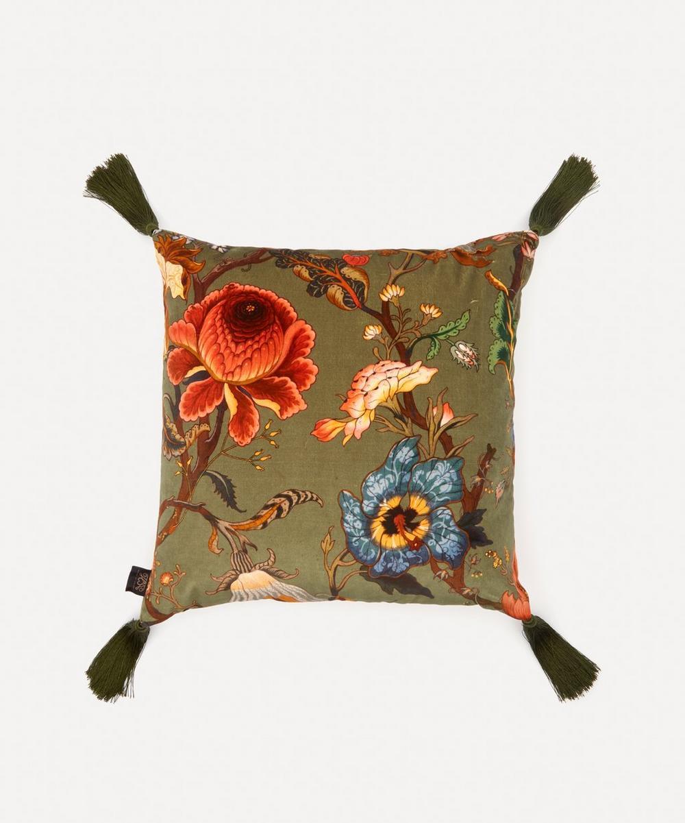 House of Hackney - Artemis Medium Velvet Cushion