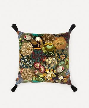 Saturnalia Large Velvet Cushion