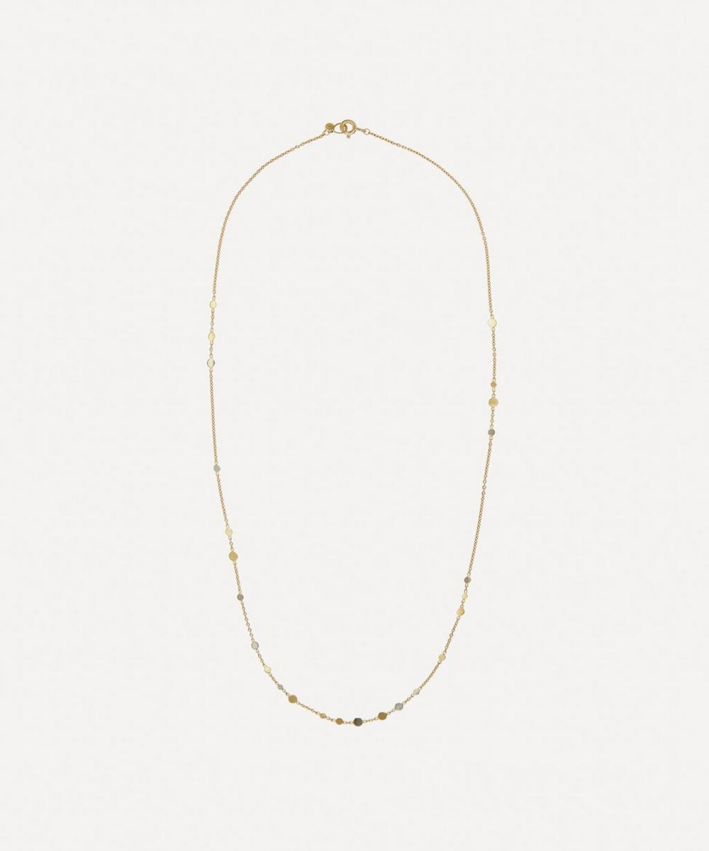 Sia Taylor - Gold and Platinum Scattered Dust Necklace