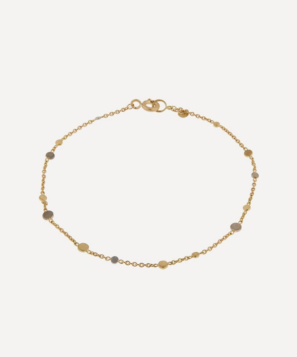 Sia Taylor - Gold and Platinum Scattered Dust Bracelet