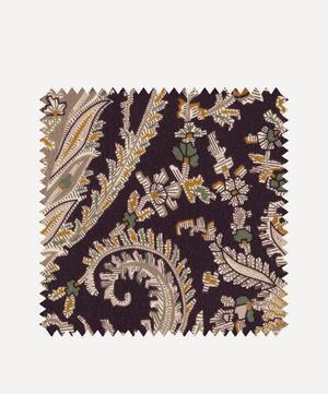 Fabric Swatch - Felix Raison Cotton Velvet in Dragonfly