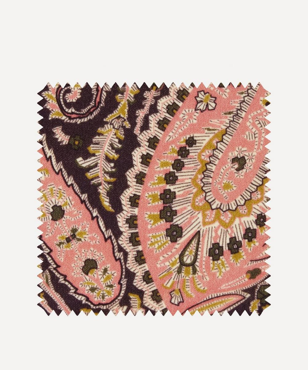 Liberty Fabrics Interiors - Fabric Swatch - Felix Raison Cotton Velvet in Lacquer