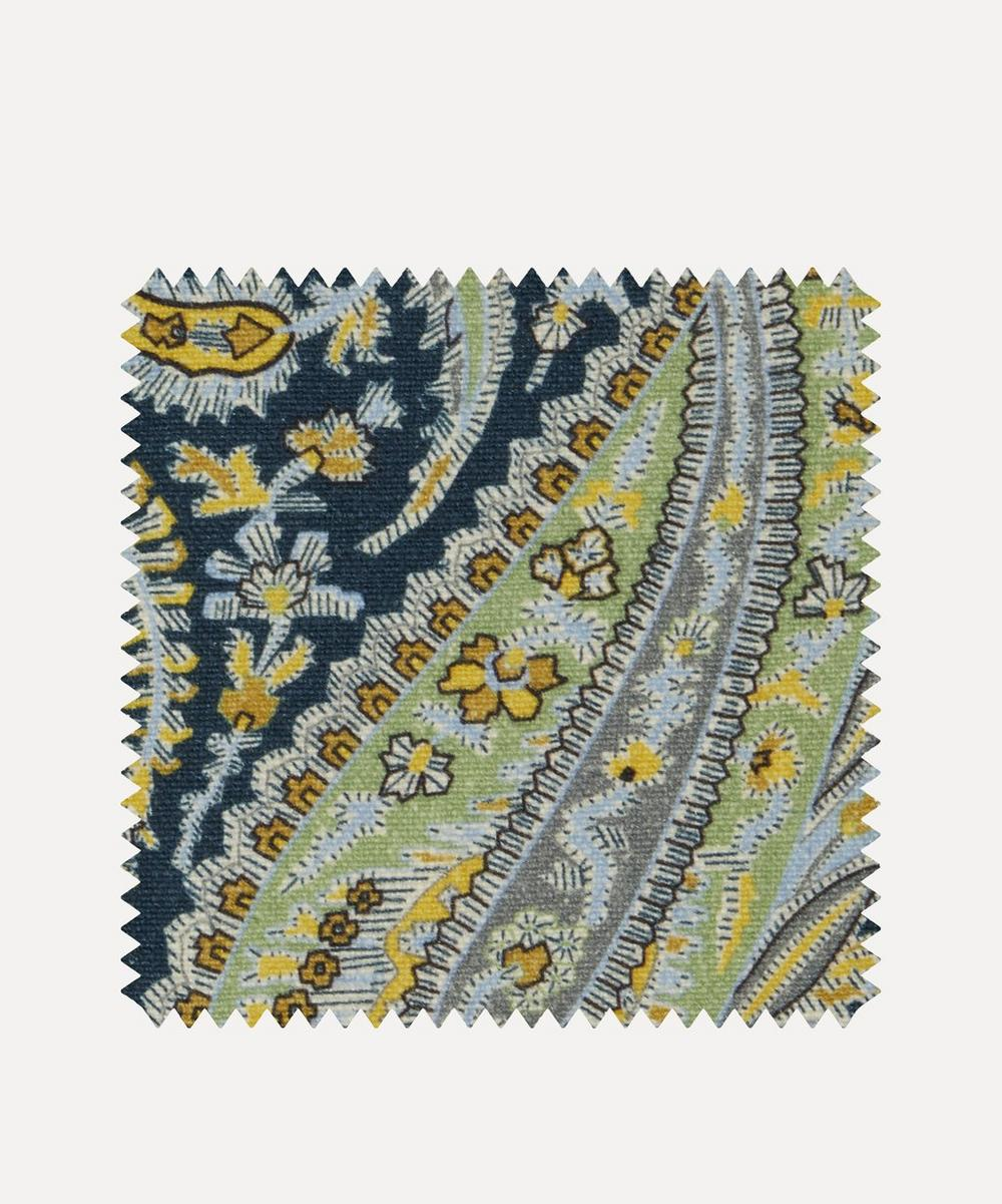 Liberty Fabrics Interiors - Fabric Swatch - Felix Raison Emberton Linen in Lichen Bright