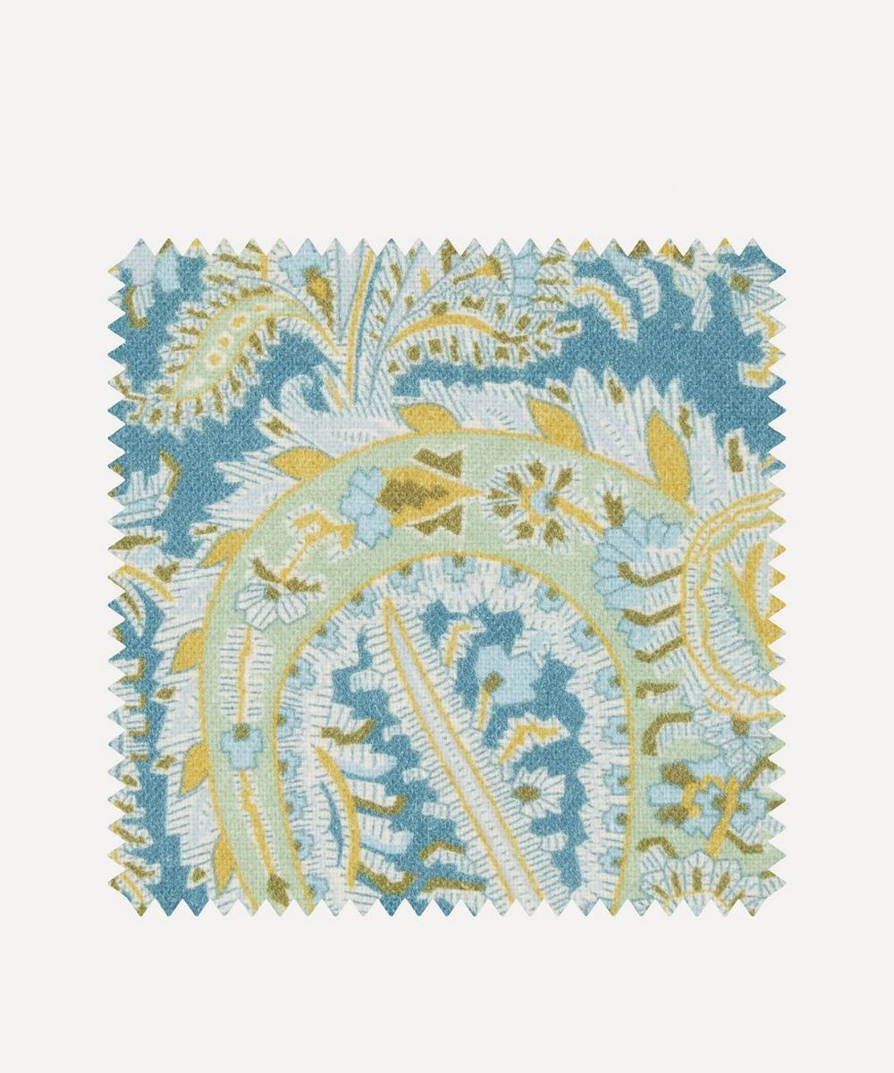 Liberty Fabrics Interiors - Fabric Swatch - Felix Raison Chiltern Linen in Lichen Sage