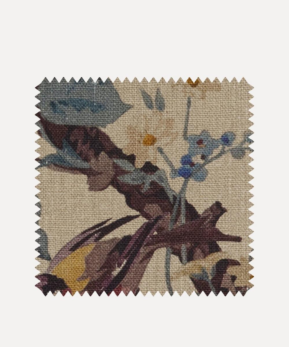 Liberty Fabrics Interiors - Fabric Swatch - Lady Kristina Rose Ladbroke Linen in Dragonfly