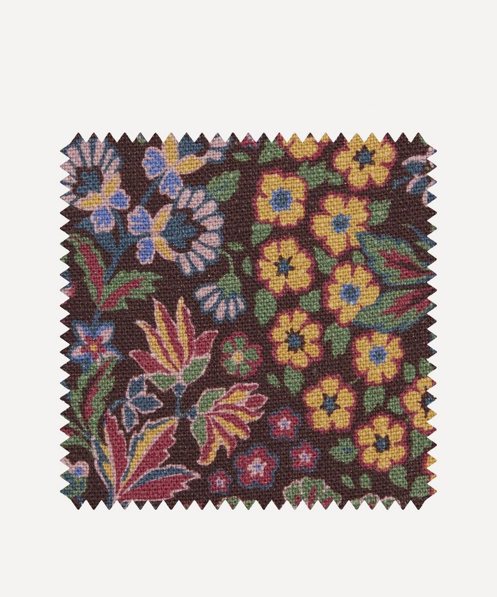 Liberty Fabrics Interiors - Fabric Swatch - Marquess Garden Ladbroke Linen in Dragonfly